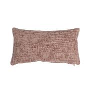 Bronx71 Kussen Feline roze chenille stof 25 x 45 cm
