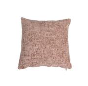 Bronx71 Kussen Feline roze chenille stof 45 x 45 cm