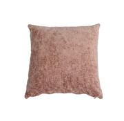 Bronx71 Kussen Juna roze chenille stof 45 x 45 cm