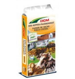 DCM DCM  Gedroogde koe-kipen-paardenmest 10 kg