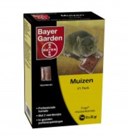 Bayer Bayer Muizenkorrels Frap 8x25gr