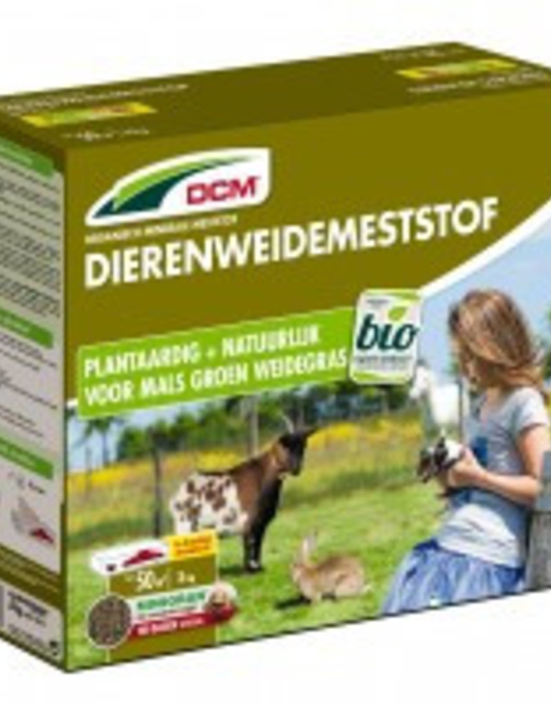 DCM DCM Naturlijke meststof voor dierenweides  3kg