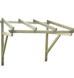 vidaXL Deurluifel 200x100x160 cm FSC hout