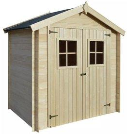 vidaXL Tuinhuis 2x1,5 m 19 mm hout