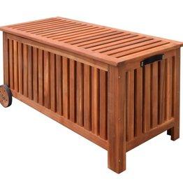 vidaXL Tuinbox 118x52x58 cm hout