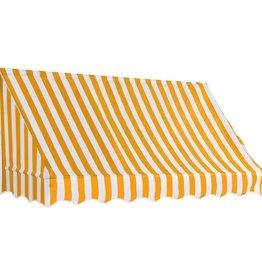 vidaXL Luifel 200x120 cm oranje en wit