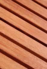 vidaXL 3-delige Bistroset voor kinderen massief eucalyptushout