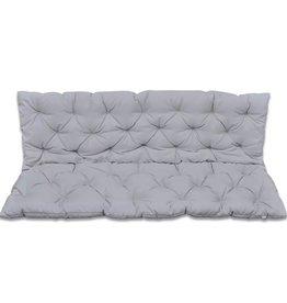 vidaXL Kussen voor schommelstoel 150 cm (grijs)