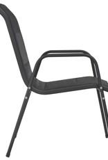 vidaXL 13-delige Tuinset staal zwart