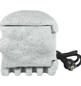 vidaXL Buitenstopcontact kunststeen met afstandsbediening