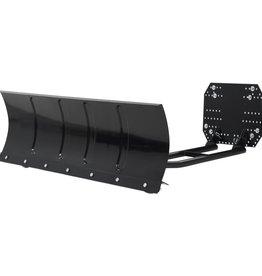 vidaXL Sneeuwploeg voor ATV 120x38 cm zwart