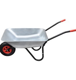 vidaXL Kruiwagen 80 liter enkel wiel