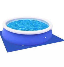 vidaXL Zwembadzeil/laken voor ronde zwembaden 360 / 367 cm