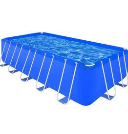 vidaXL Opbouwzwembad met stalen frame rechthoekig 540 x 270 x 122 cm