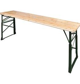 vidaXL Biertafel inklapbaar 169x50x75/105 cm grenenhout