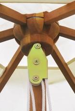 vidaXL 13-delige Tuinset met kussens massief acaciahout