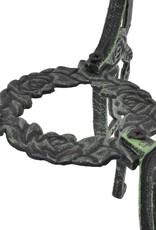 vidaXL 3-delige Bistroset gegoten aluminium groen