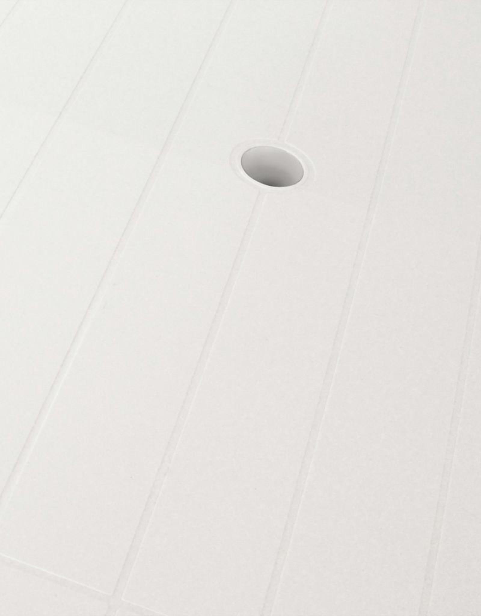 vidaXL 5-delige Tuinset kunststof wit