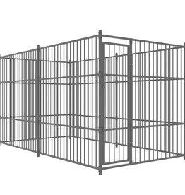 vidaXL Hondenkennel voor buiten 400x200 cm