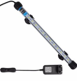 vidaXL LED-aquariumlamp 28 cm wit