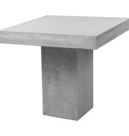 vidaXL Tuintafel 80x80x75 cm beton grijs