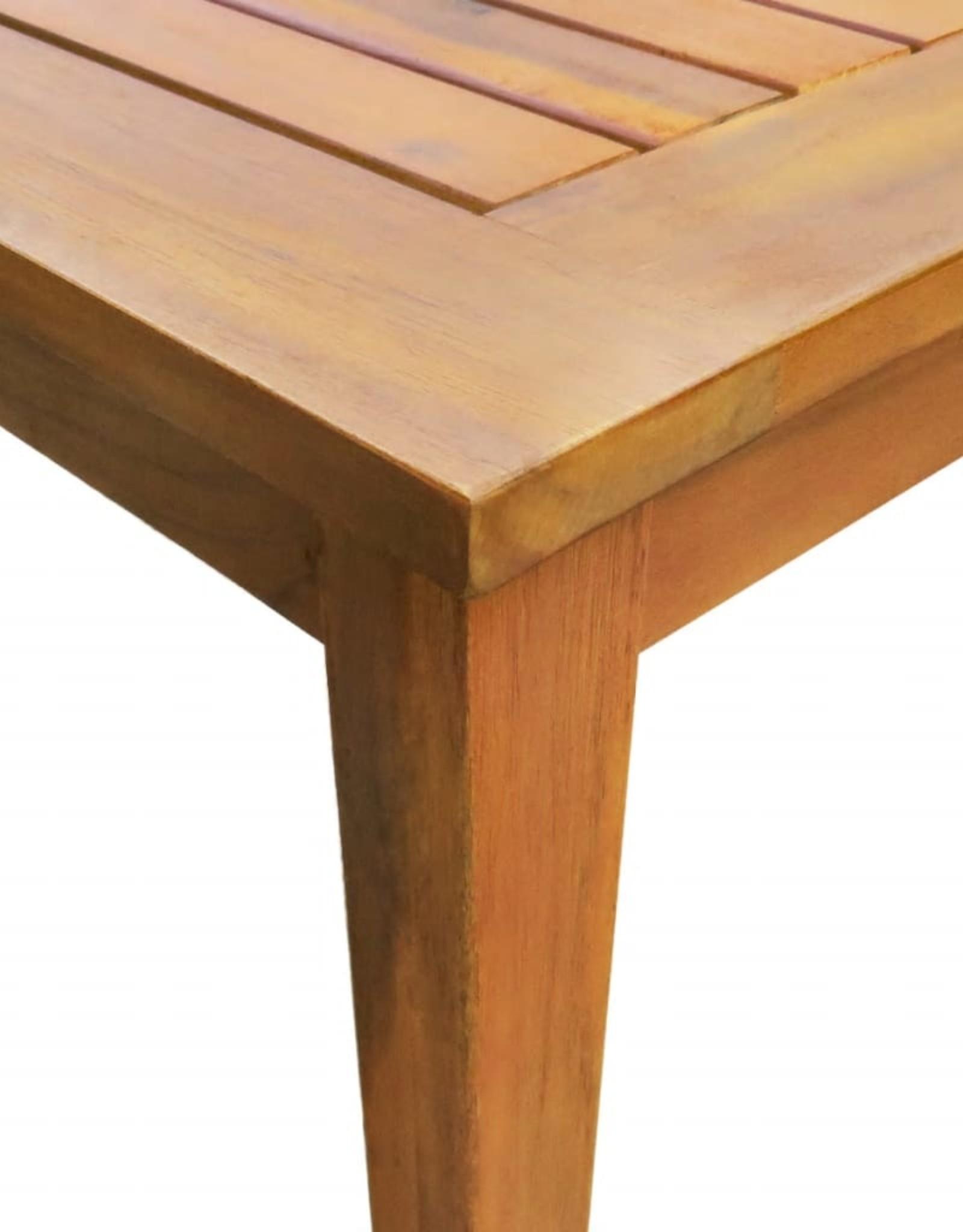 vidaXL 5-delige Tuinset massief acaciahout