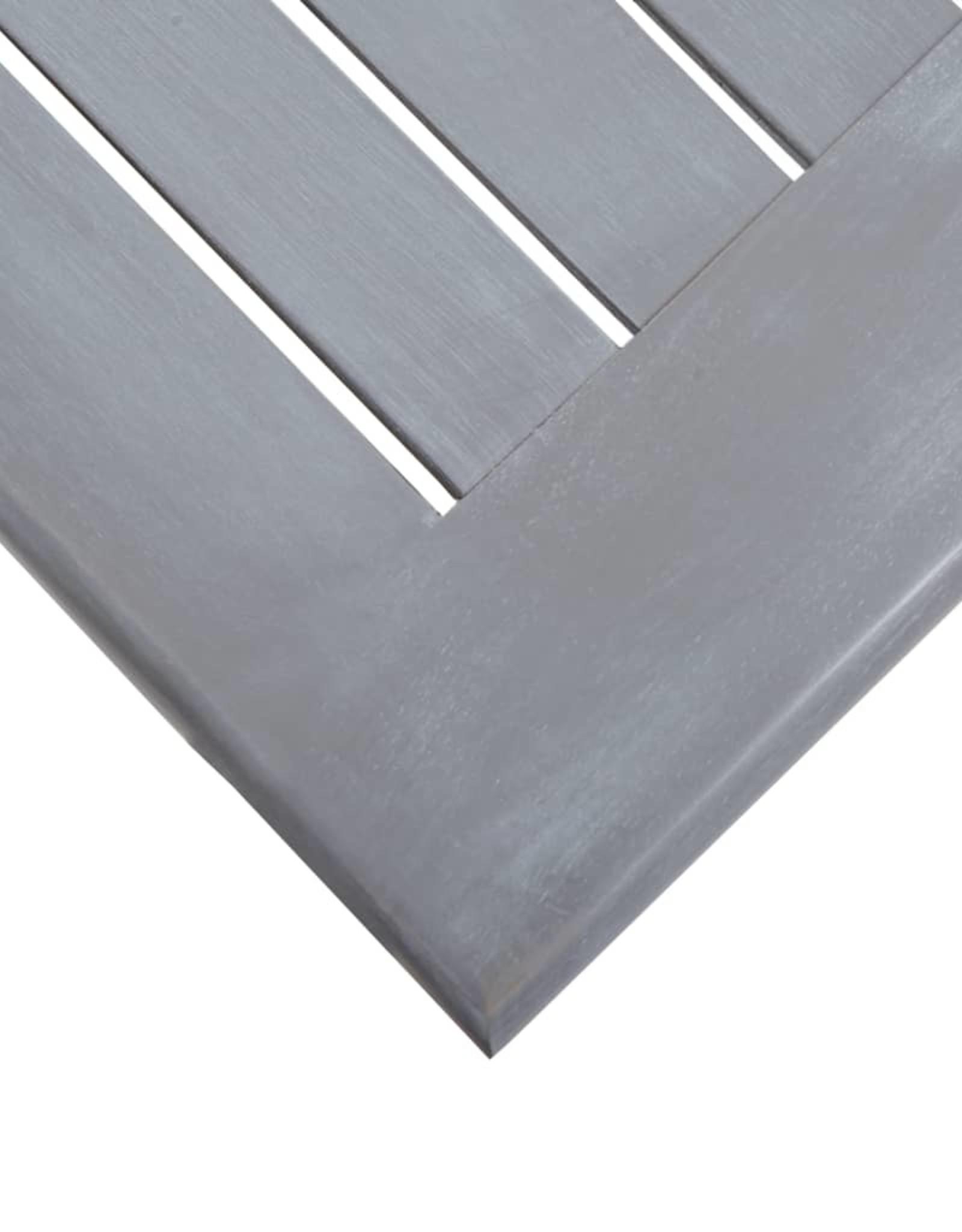vidaXL 11-delige Tuinset massief acaciahout grijs