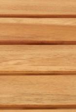 vidaXL 3-delige Barset massief acaciahout en roestvrij staal