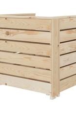 vidaXL 2-delige Loungeset pallet hout