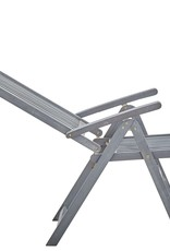 vidaXL 7-delige Tuinset massief acaciahout grijs