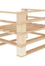 vidaXL 5-delige Loungeset pallet hout