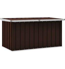 Tuinbox 129x67x65 cm bruin