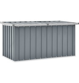 Tuinbox 129x67x65 cm grijs
