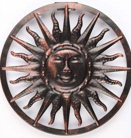 Wandverlichting zon solar LED 40x4 cm