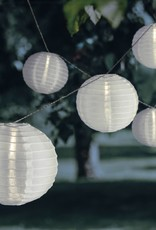 10-delige Lichtslinger LED lantaarns