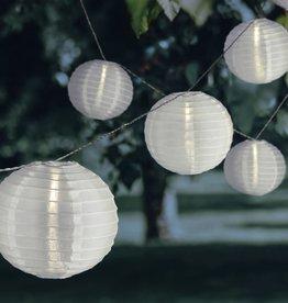 Lichtslinger met 25 LED-lampjes Chinese lantaarns