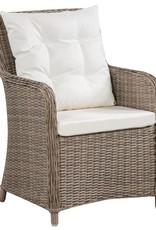 11-delige Tuinset poly rattan bruin