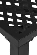 3-delige Bistroset staal zwart