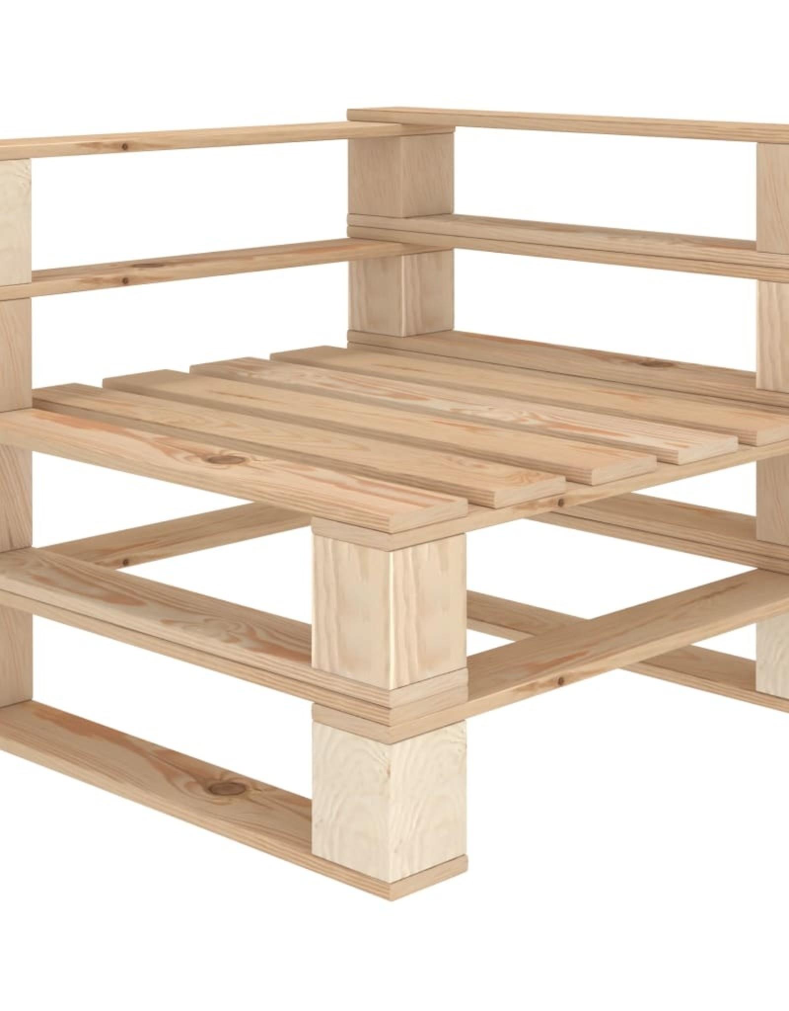 5-delige Loungeset pallet hout