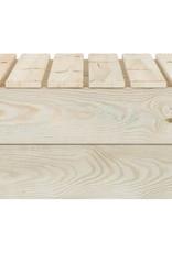 2-delige Loungeset geïmpregneerd vurenhout