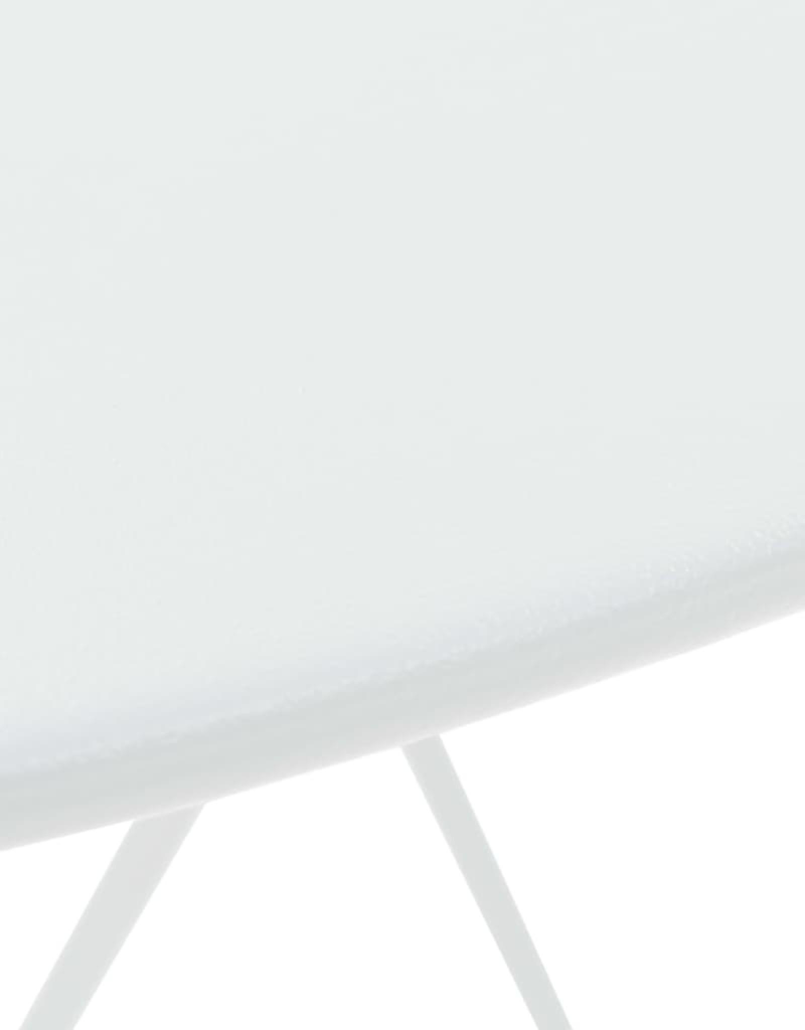3-delige Bistroset staal wit