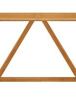 7-delige Tuinbarset met kussens bruin