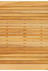 3-delige Tuinbarset met kussens bruin