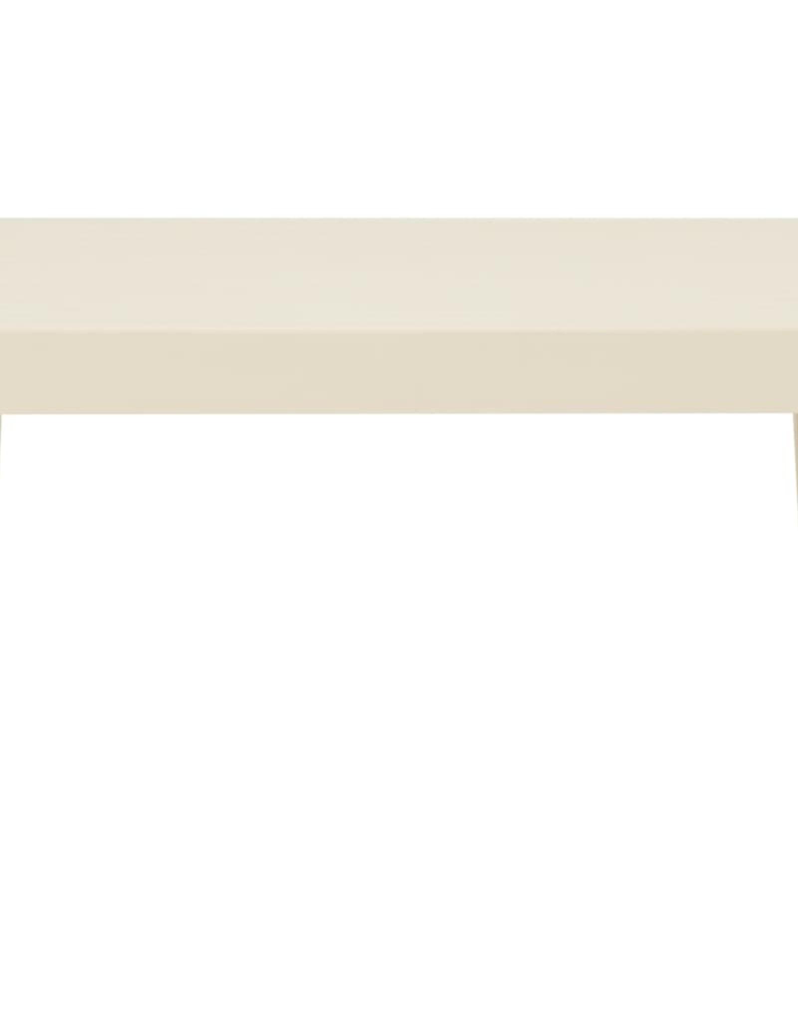 2-delige Loungeset met kussens kunststof wit