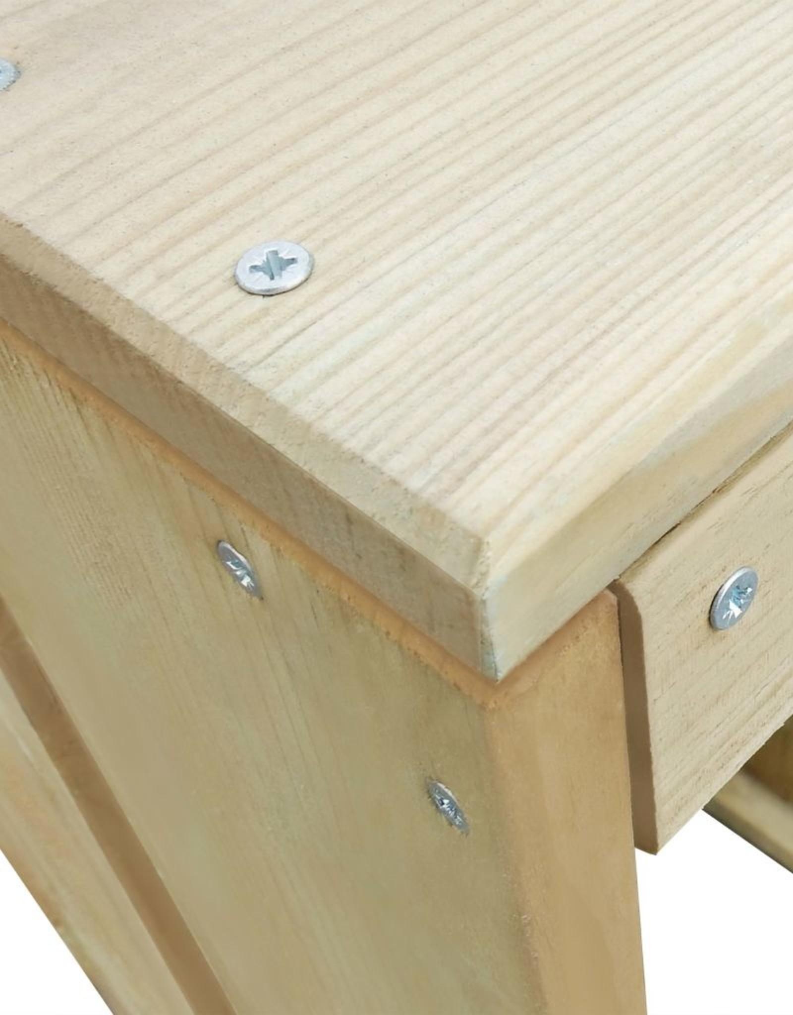 5-delige Tuinset geïmpregneerd grenenhout