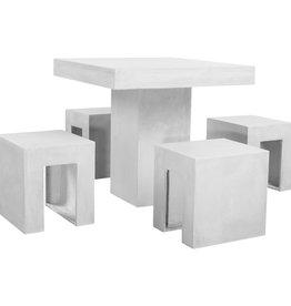 5-delige Tuinset beton