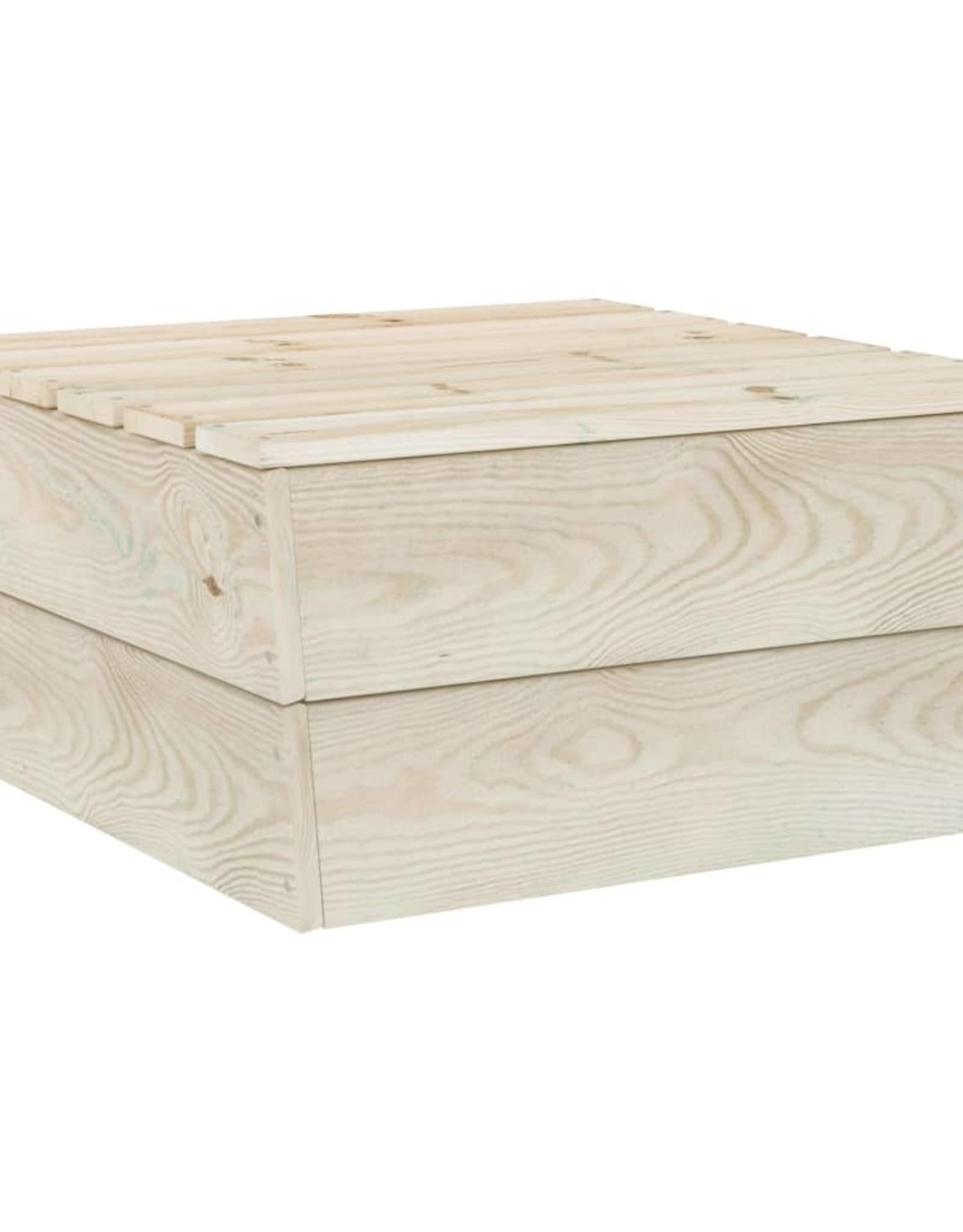 3-delige Loungeset pallet geïmpregneerd vurenhout