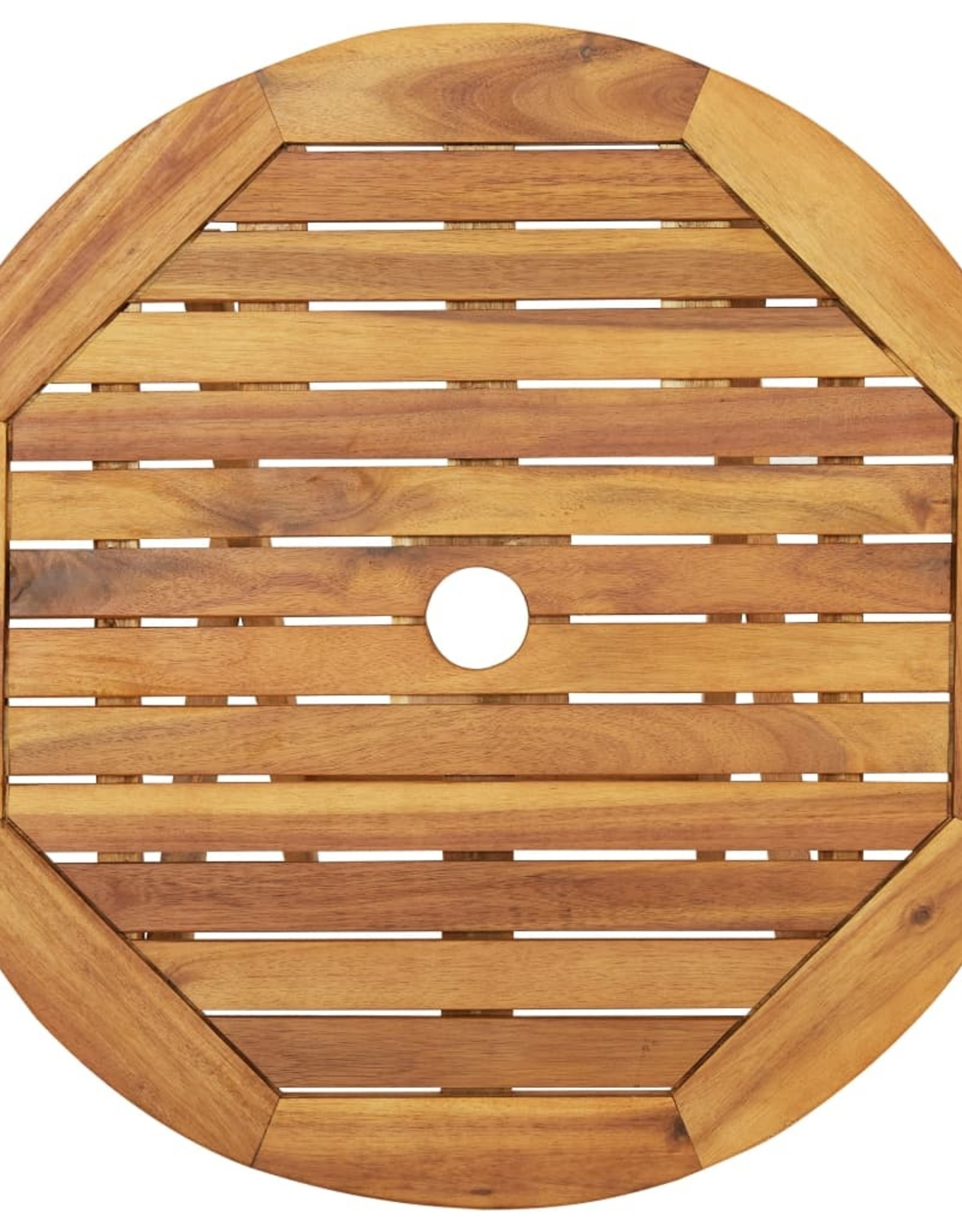 3-delige Bistroset inklapbaar massief acaciahout