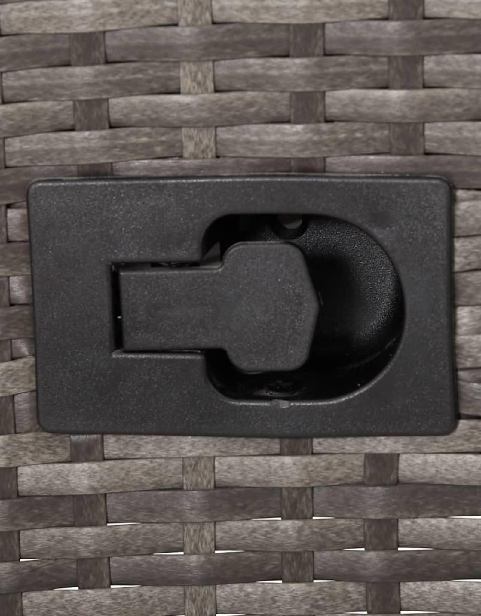 5-delige Tuinset grijs