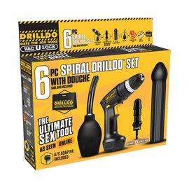 Drilldo Drilldo 6-Piece Spiral Set